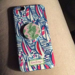 Lilly Pulitzer iPhone case red right return